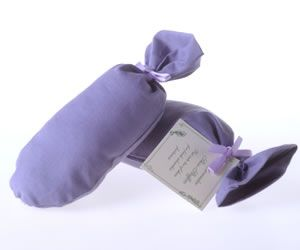 Lavender Shoe Stuffers (Pair) By Warratina Lavender Farm. To fragrant shoes & help to keep their shape. Available in fabrics: mauve, mauve spots, white spots,