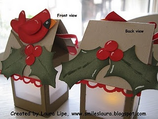 Bird paper lanterns