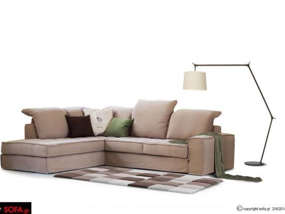 Γωνιακός καναπές με ανάκλιση Dream