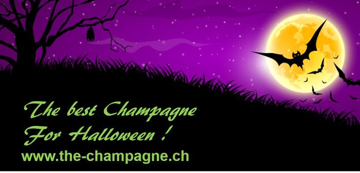 Halloween the best time of the year to enjoy Champagne www.the-champagne.ch