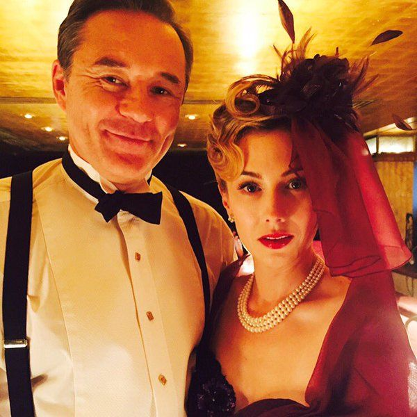 Calvin and Whitney on Agent Carter