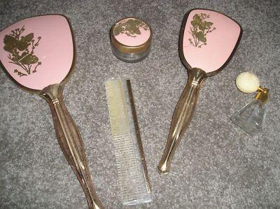 Vintage Brush And Mirror Dresser Set Bestdressers 2017