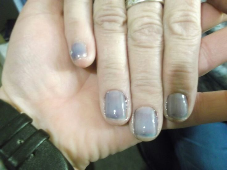 Manicure with gel overlay