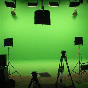 Studio ChromaKey per foto e video con limbo tinteggiabile Green Screen: Dove affittarlo.