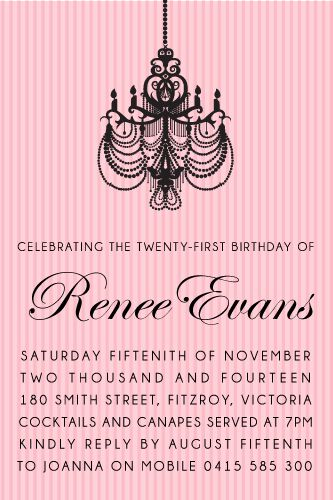 135 best Adult Birthday Invitations - Party Invitations images on - birthday invitation for adults