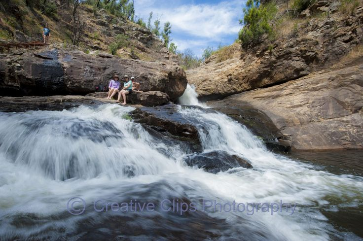 Grampians iconic MacKenzie Falls, one of the largest and most spectacular waterfalls in Victoria. ... MacKenzie Falls a forty-minute drive from Halls Gap on the Mount Victory Road. Awesome Place to cool down on a hot day
