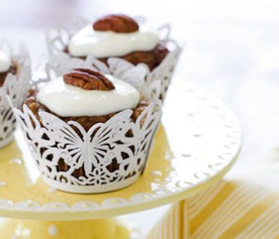 Better-For-You Treat: Skinny Hummingbird Cupcakes. They have one-third ...
