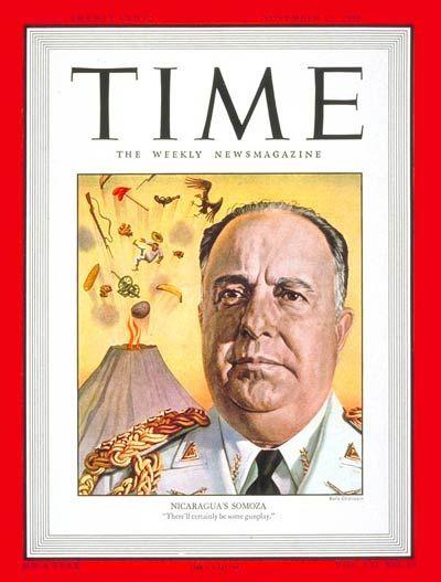 TIME Magazine Cover: Anastasio Somoza - Nov. 15, 1948 - Nicaragua