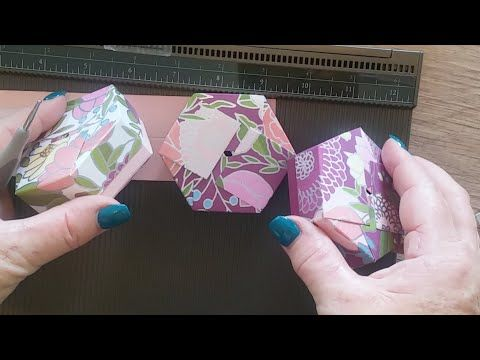 Hexagon Soap Gift Box Stamping with DonnaG!