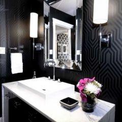 stunning...  contemporary bathroom by Atmosphere Interior Design Inc.
