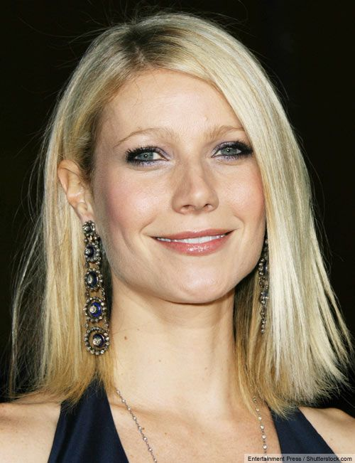 Gwyneth Paltrow with a shoulder length hairstyle