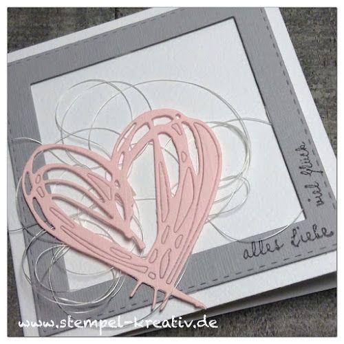 Kreativ Karten gestalten: Alles Liebe und viel Glück ...
