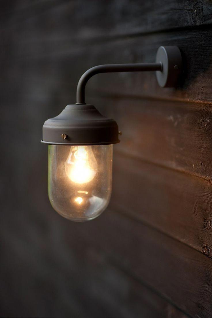 Go Green With Solar Garden Lights Barn Lighting Outdoor Wall Lighting Rustic Wall Lighting