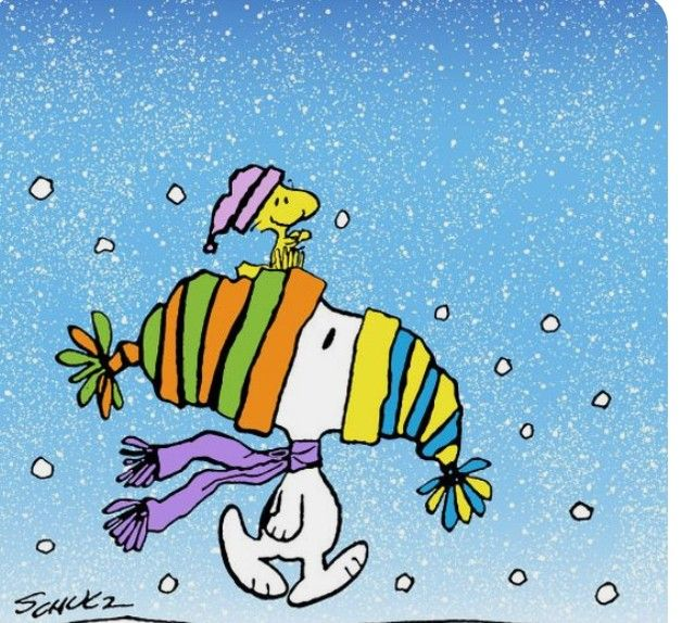 Ready For Winter Weather Snoopy Woodstock Pinterest Snoopy