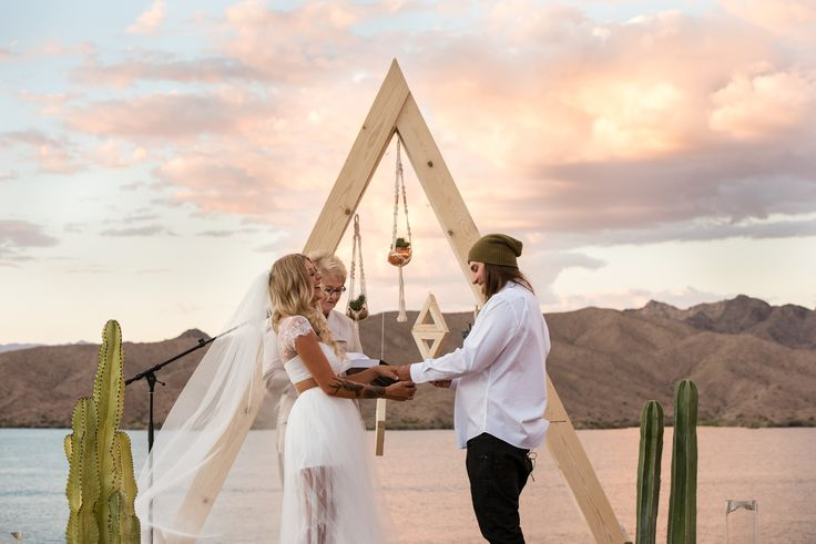 An Edgy, Landscape-Inspired Wedding at Havasu Springs Resort in Parker, Arizona