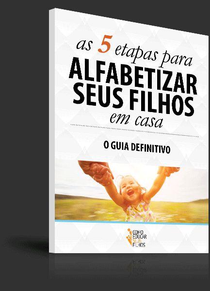 Este e-book é um guia eficaz para você dar os primeiros passos na alfabetização de seus filhos. Inclui vários exercícios divertidíssimos e materiais extras.