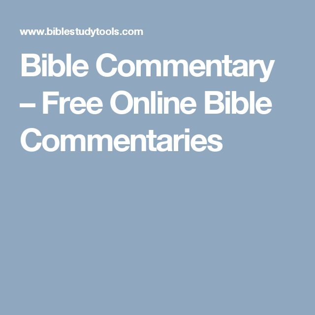 Best 25 free bible commentary ideas on pinterest bible bible commentary free online bible commentaries fandeluxe Gallery