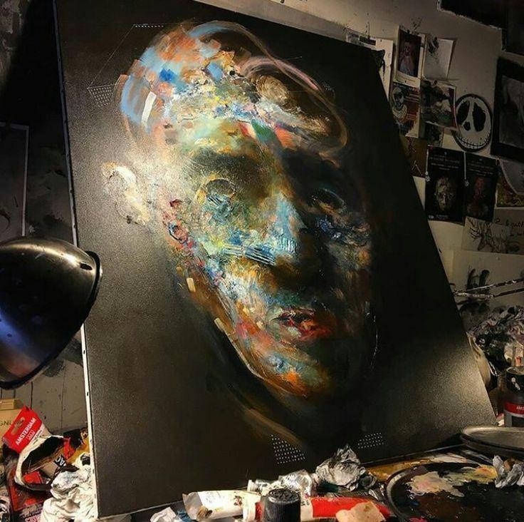 Eric Lacombe in studio D.
