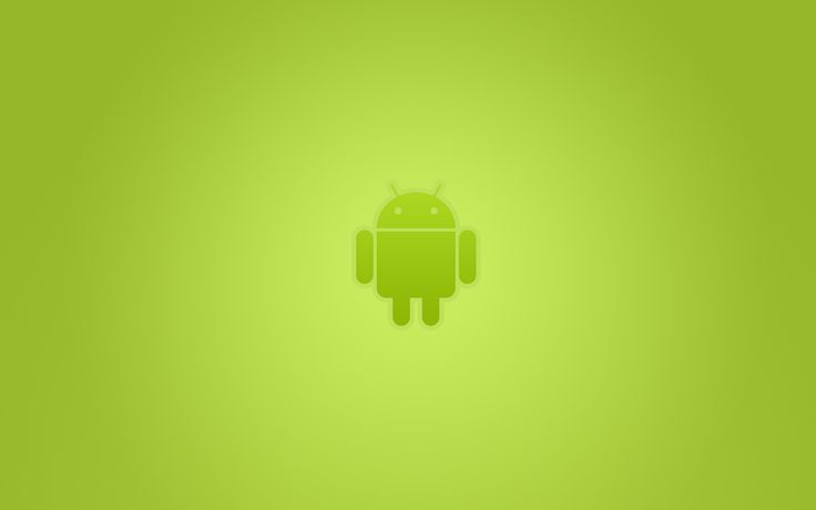 android green background