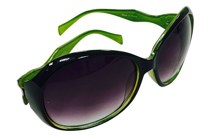 Round Sunglasses with Green Bows $12.99 Shoes by Lara 703-416-4162