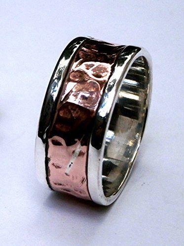 Unisex, 925 Sterling Silver Ring, Artisan, for Men or Women, Size 10.5 Konstantis Jewelry http://www.amazon.com/dp/B00TFANS3M/ref=cm_sw_r_pi_dp_R8Fzvb0S62MTA