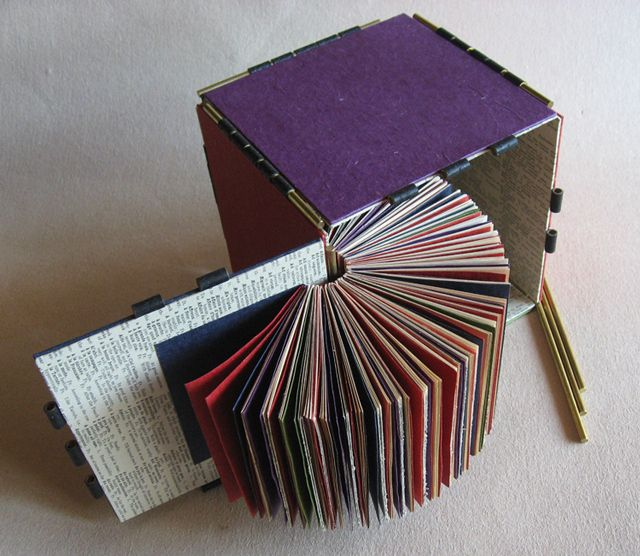 When designing an artist's book or altering a book, I try to follow the well-known preceptForm Follows Function,though it might be more accurately described asForm Follows Content in the case of...
