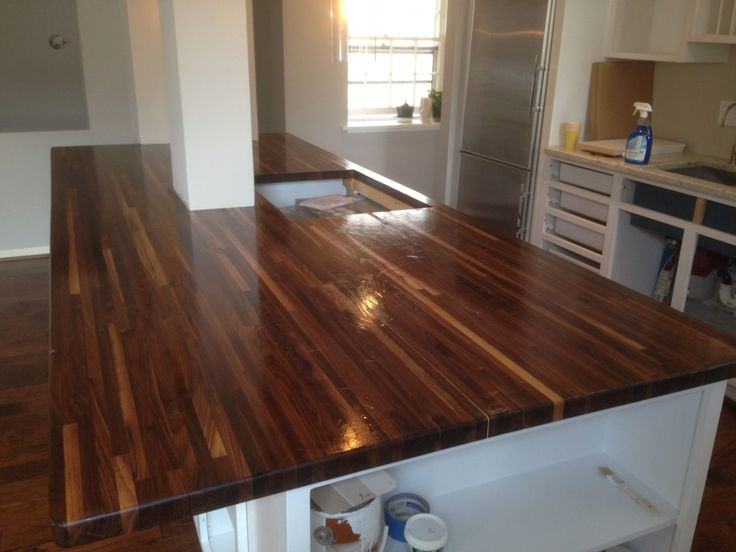 25 best ideas about walnut countertop on pinterest