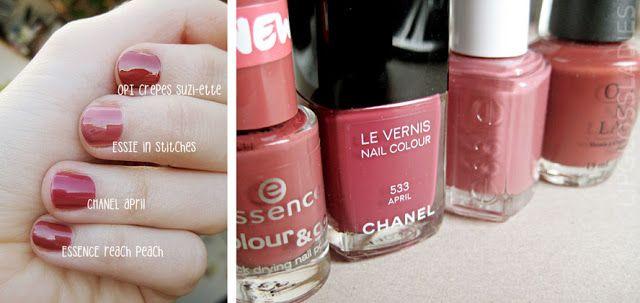 Lipgloss Ladys: Farbvergleich // CHANEL April