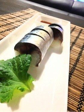 (*´艸`*)大好きな鯖寿司