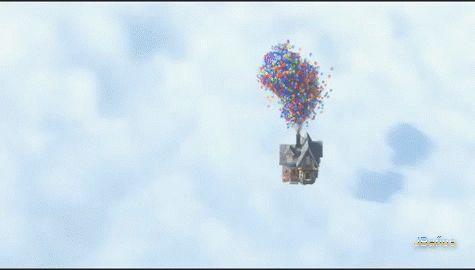cuervo57: Cark  pierde la casa - UP, Una aventura de altura.gif 90 - Siento que perdiera su casa Sr. Fredricksen. - Sólo es una casa.
