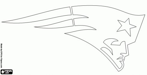 new england patriots logo coloring pages - 49ers logo coloring pages colorear logo de new england