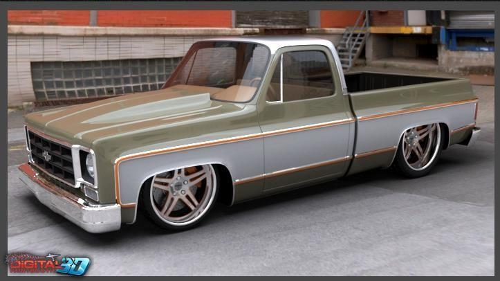 1973-1987 bagged c10 swb - Google Search | 1975 Chevrolet ...