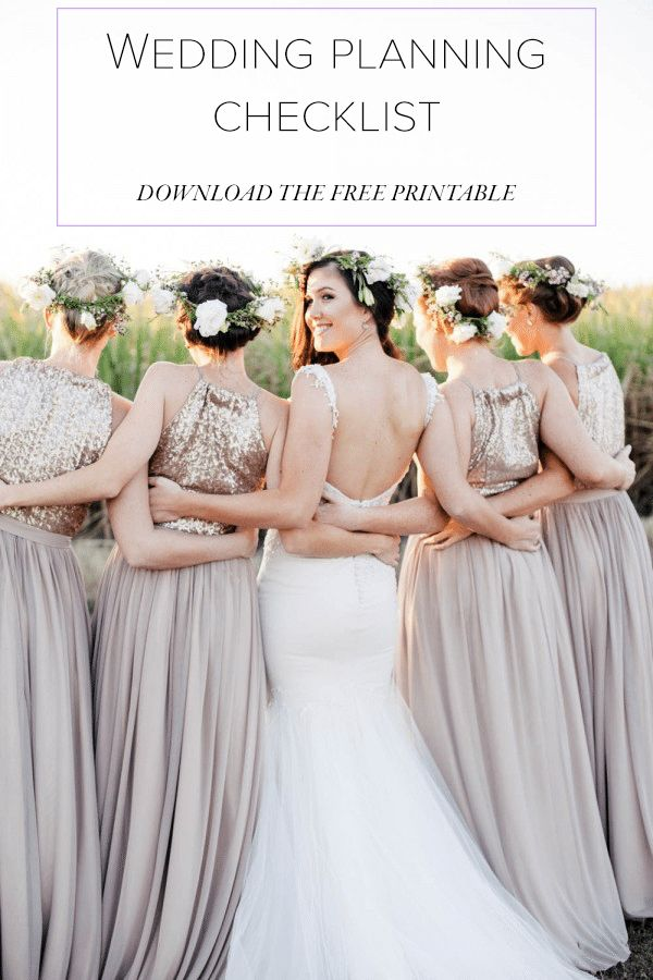 Make Wedding Planning Easy With These Free Checklists: Free Wedding Checklist from Junebug Weddings