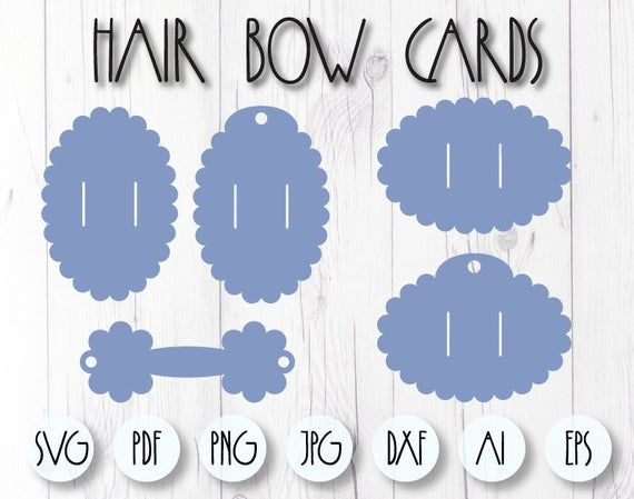 Bow Holder Svg Scalloped Card Template Hair Bow Display Svg Etsy In 2021 Bow Display Hair Bow Display Bow Template