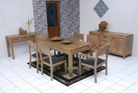 Detail of Toppe Dining Room Set | Indonesia Contemporary Furniture
