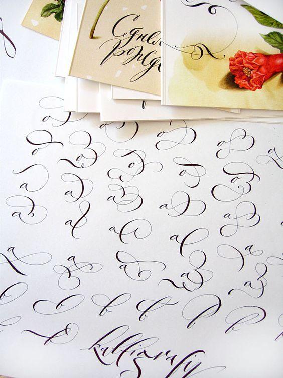 Calligraphy by Marina Marjina: