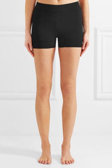 Alaïa - Stretch-knit Shorts - Black - FR