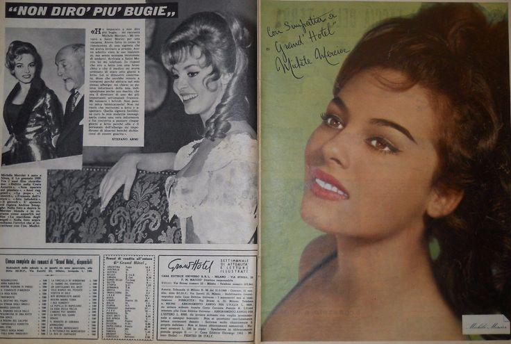 Michele Mercier - Due Pagine Estratte da una rivista del 1965 - 975   eBay
