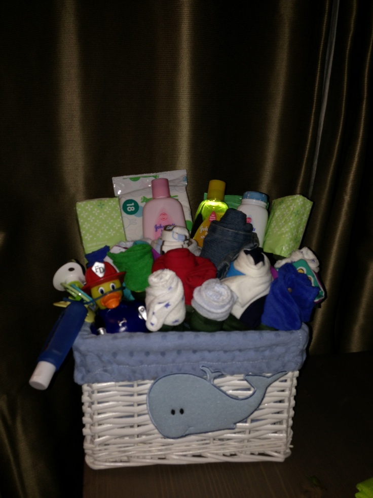 Baby Boy Gifts Pinterest : Best images about baby baskets on boy