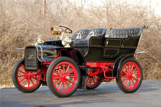 1907 cadillac model m touring cadillac motors detroit for Fox motors cadillac mi used cars