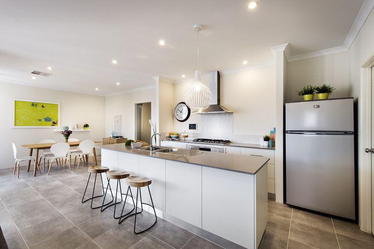 Kitchen to Dining - Monroe Display Home - Homebuyers Centre - Baldivis, WA Australia