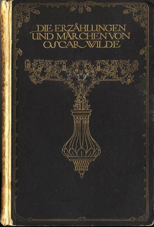 Design is fine. History is mine. — Heinrich Vogeler, drawings for Oscar Wilde's Fairy...