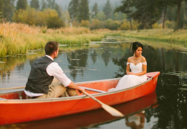 Mariage thème camping 2