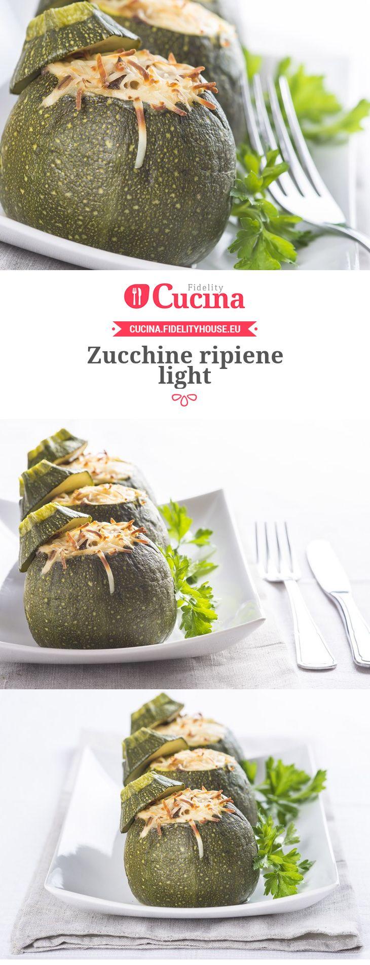 Zucchine ripiene light