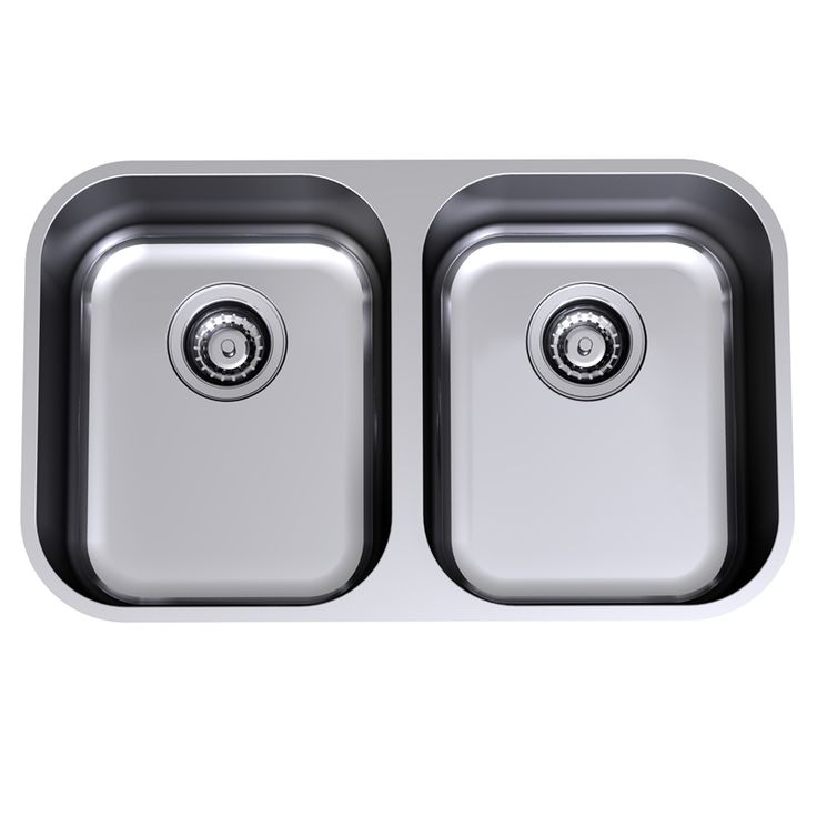 $599 Clark Monaco Double Bowl Undermount Sink - Bunnings Warehouse