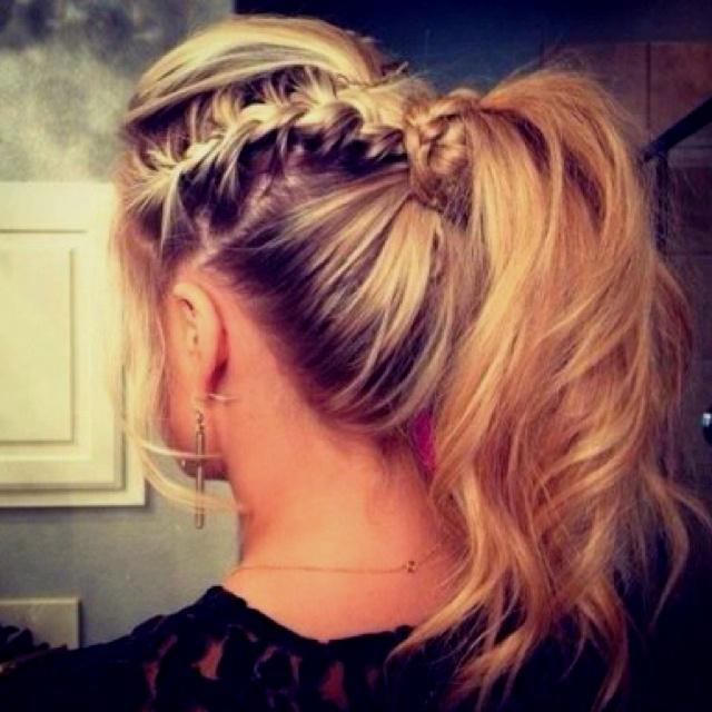 thursday night hair do