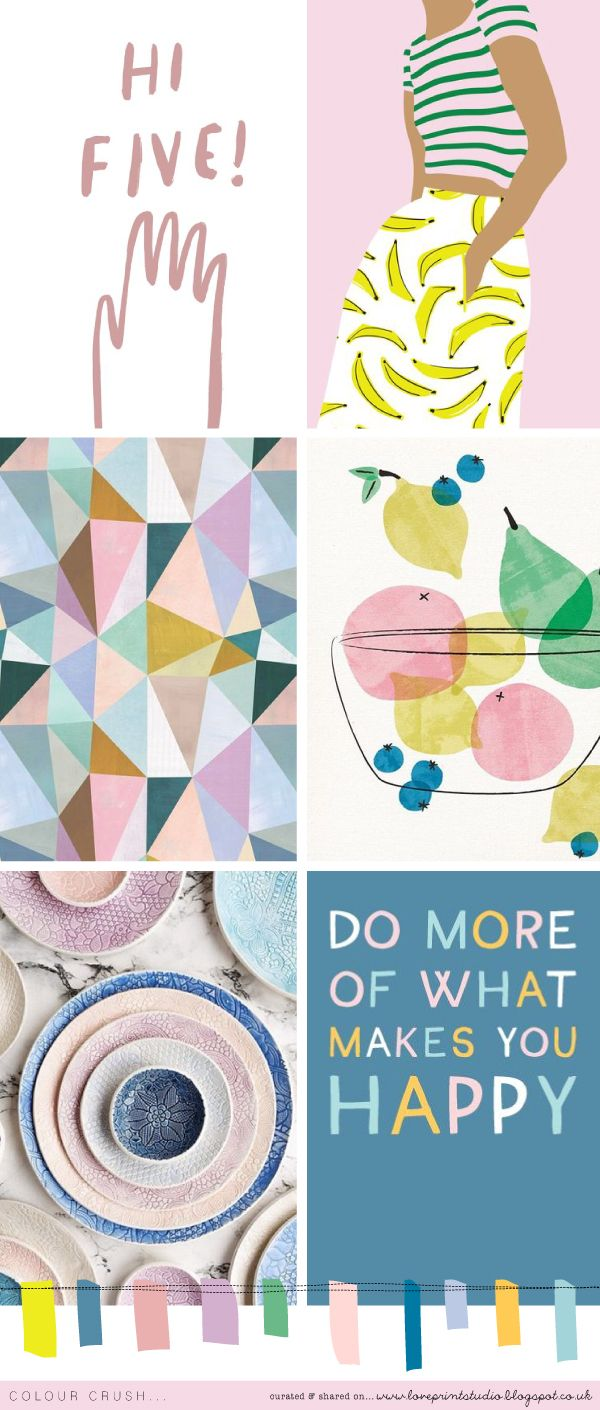 Colour crush time today! (image credits clockwise from top left) 1 | 2 | 3 | 4 | 5 | 6  x x x