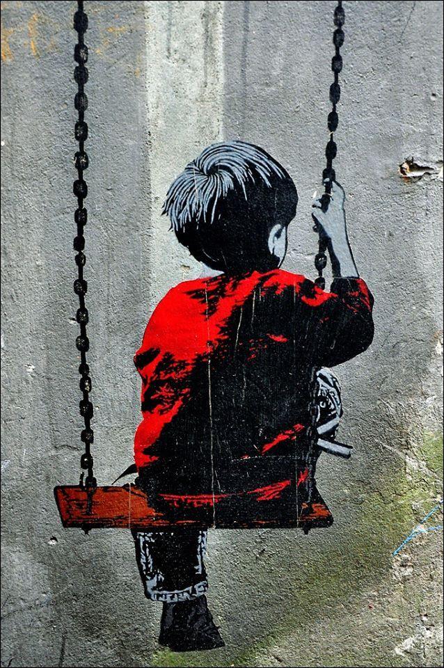 Sreet art banksy