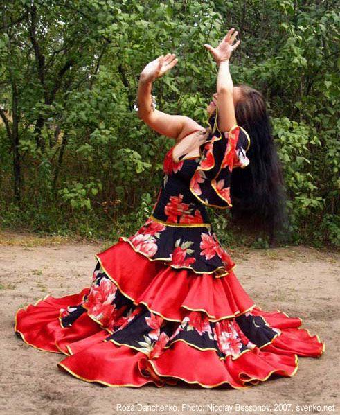 Днем, картинки цыганка в танце
