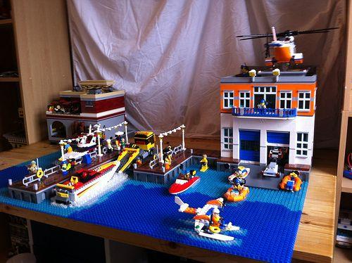 coast guard boat house